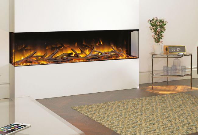 Flamerite Glazer 1500 3-2-1 Electric Inset Wall Fire