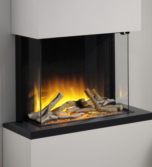 Flamerite Glazer 600 3-2-1 Electric Inset Wall Fire