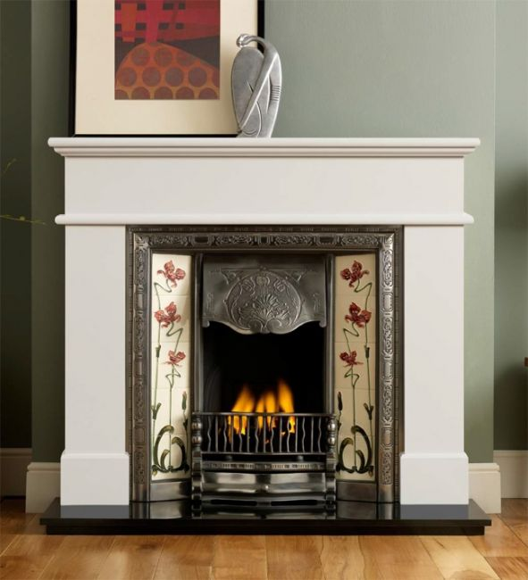Gallery Collection Normandy Cast Iron Tiled Insert