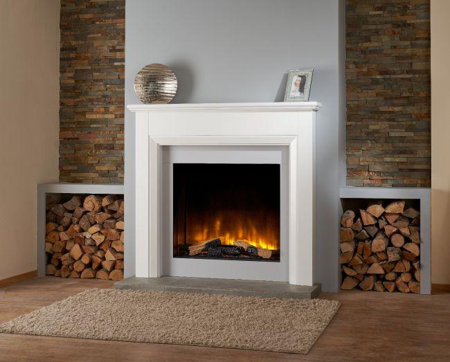 OER Hilton Electric Fireplace Suite