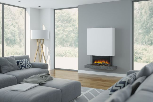 OER Roc 2 Wall Mounted Electric Fire