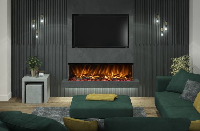 What Types of Fires Can You Use In a Media Wall