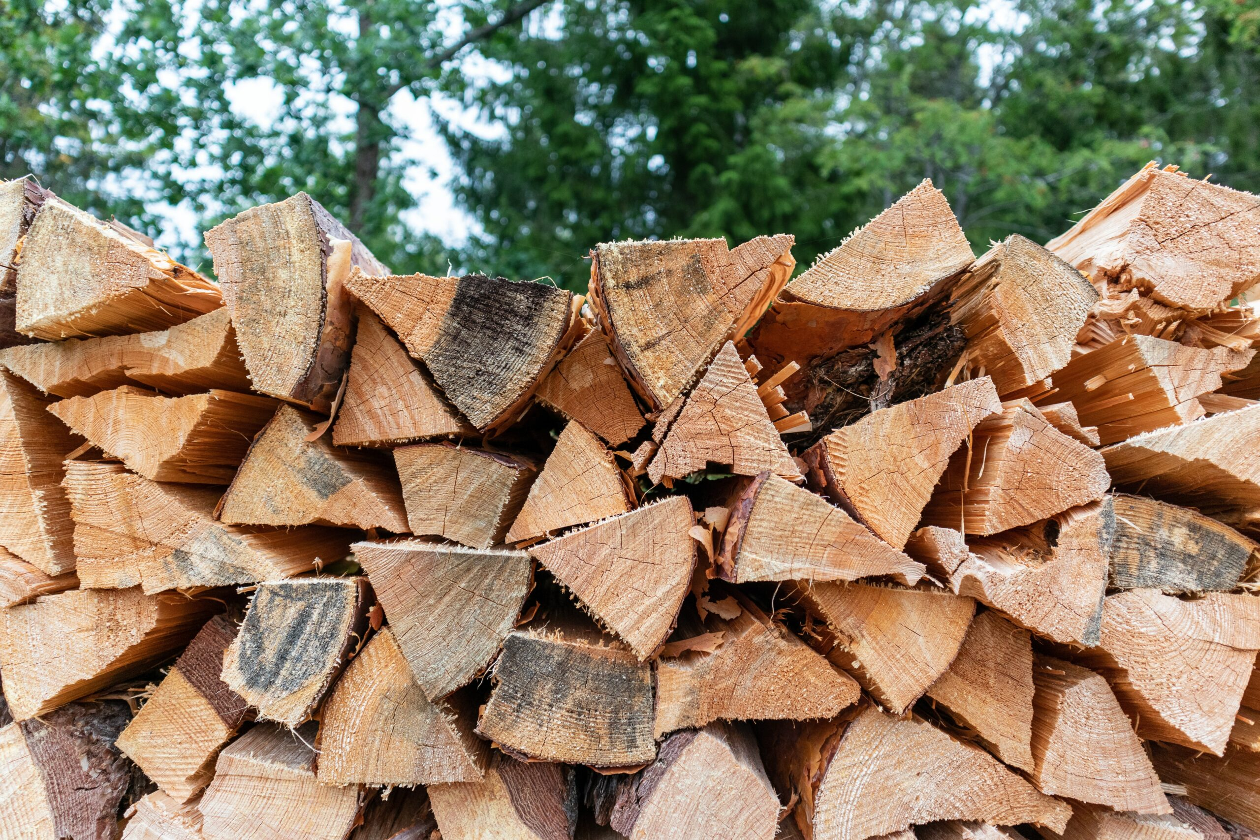 Using dry, seasoned wood will improve the efficiency of your fireplace