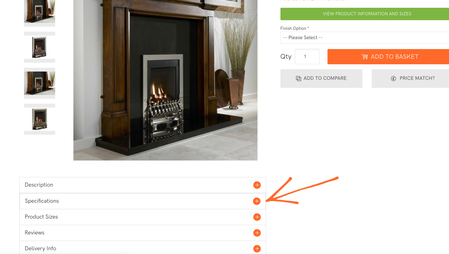 How to find the efficiency of a fireplace