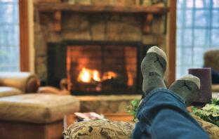 Autumn Winter Fireplace Tips