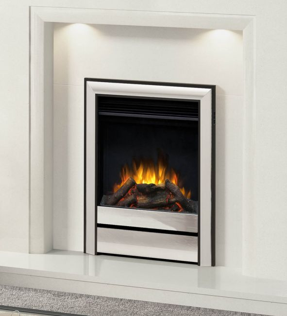 """Elgin & Hall Chollerton 16"""" Inset Electric Fire"""