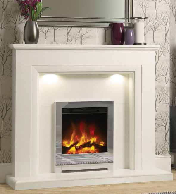 Flare Beam Edge 16-inch Electric Fireplace