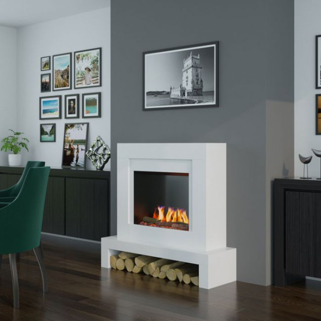 OER Emerson 22 Electric Fireplace Suite